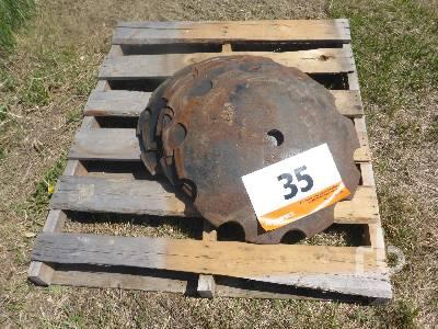 Qty Of 13 Serrated Disc