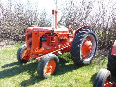 1950 CASE DC 2WD Antique Tractor