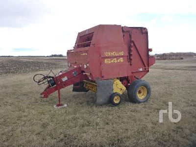1997 NEW HOLLAND 644 Silage Special Round Baler