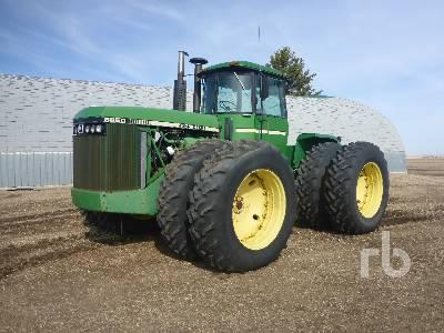 1982 JOHN DEERE 8850 4WD Tractor