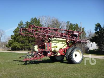 2002 HARDI COMMANDER TWIN FORCE CT1200 90 Ft High Clearance Field Sprayer