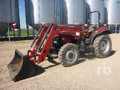 2009 CASE FARMALL 70 Utility Tractor