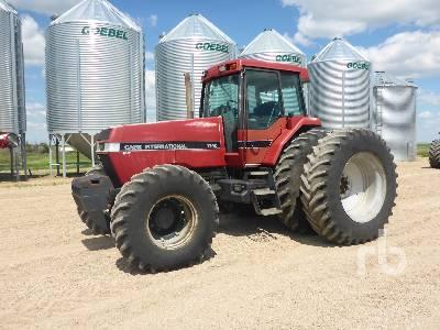 1991 CASE IH MAGNUM 7140 MFWD Tractor