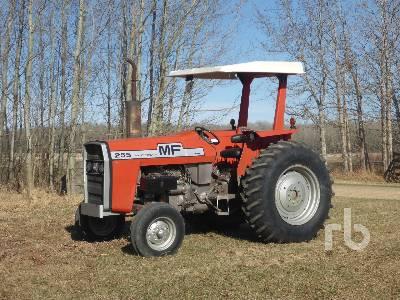 1979 MASSEY FERGUSON 255 2WD Tractor