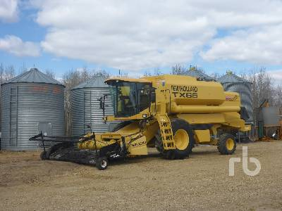 1998 NEW HOLLAND TX66 Combine