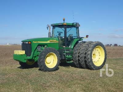 2000 JOHN DEERE 8210 MFWD Tractor