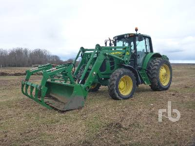 2009 JOHN DEERE PREMIUM 7230 MFWD Tractor