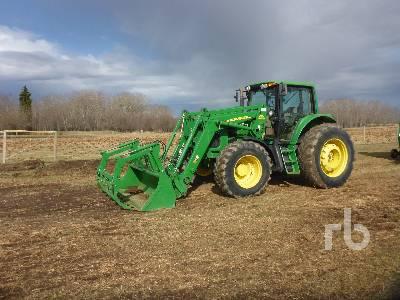 2007 JOHN DEERE PREMIUM 7330 MFWD Tractor