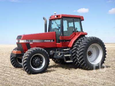 1995 CASE IH MAGNUM 7230 MFWD Tractor