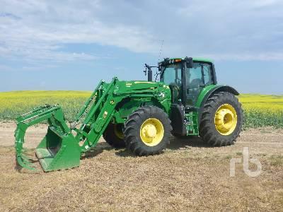 2018 JOHN DEERE 6145M MFWD Tractor