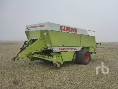 CLAAS QUADRANT 1200RC Big Square Baler