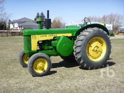 1959 JOHN DEERE 830 Diesel Antique Tractor