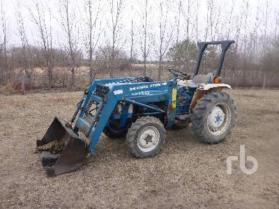 1984 FORD 1710 MFWD Tractor