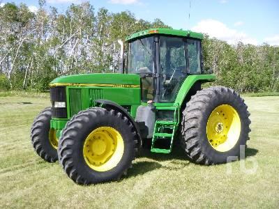 1993 JOHN DEERE 7600 MFWD Tractor