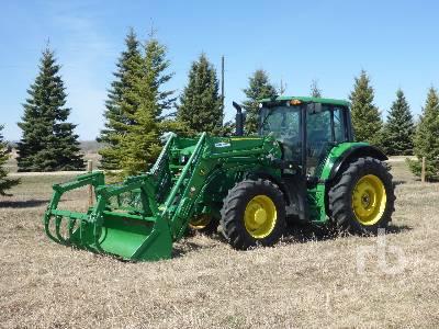 2019 JOHN DEERE 6145M MFWD Tractor