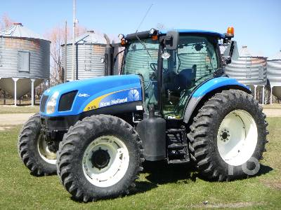 2011 NEW HOLLAND T6050 MFWD Tractor