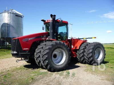 2010 CASE IH STEIGER 485HD 4WD Tractor