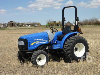 2014 NEW HOLLAND WORKMASTER 35 4WD Utility Tractor