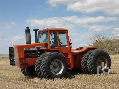 1981 MASSEY FERGUSON 4900 4WD Tractor