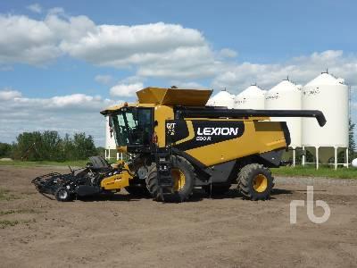2008 LEXION 590R Combine