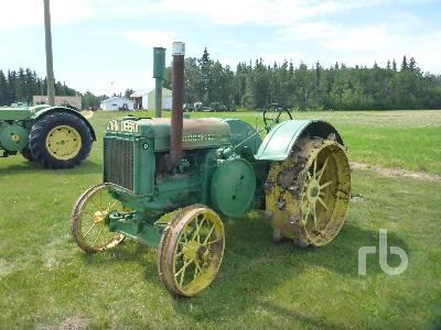 1937 JOHN DEERE D 2WD Antique Tractor