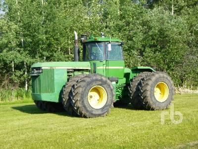 1984 JOHN DEERE 8850 4WD Tractor