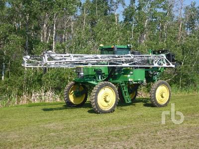 2004 JOHN DEERE 4710 120 Ft 4x4 High Clearance Sprayer