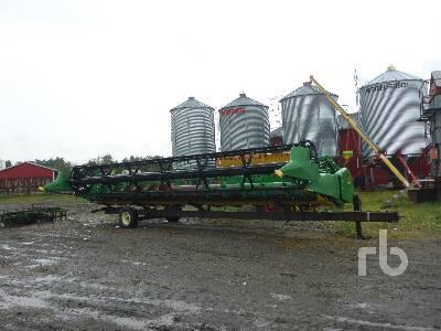 2012 JOHN DEERE 630F 30 Ft Hydra Flex Header