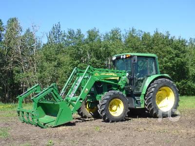 2009 JOHN DEERE 6330 MFWD Tractor