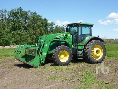 2010 JOHN DEERE 7730 MFWD Tractor