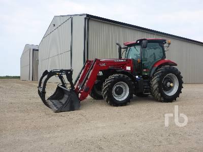 2017 CASE IH MAXXUM 135 MFWD Tractor