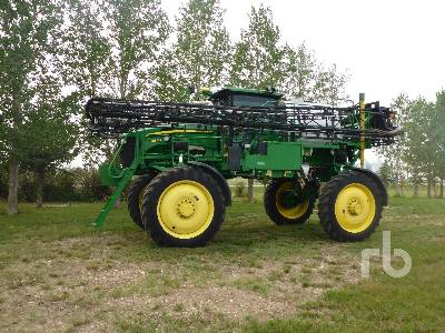 2011 JOHN DEERE 4830 100 Ft High Clearance Sprayer
