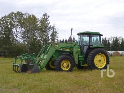 1984 JOHN DEERE 4050 MFWD Tractor