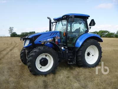 2014 NEW HOLLAND T6.165 MFWD MFWD Tractor