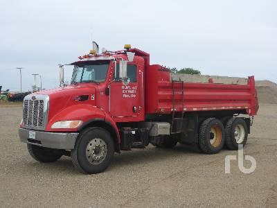2009 PETERBILT 340 Dump Truck (T/A)
