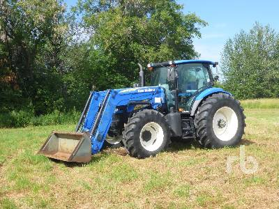 2010 NEW HOLLAND T6050 MFWD Tractor