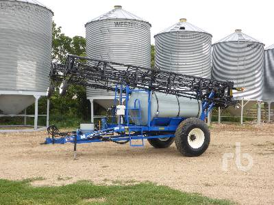 2005 NEW HOLLAND SF115 Suspended Boom 90 Ft High Clearance Sprayer