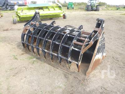 2010 HLA MBHVSG96JC530B 8 Ft Hydraulic Grapple Wheel Loader Bucket