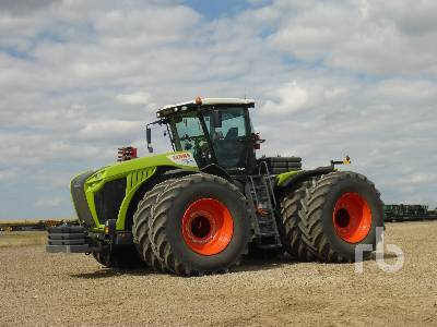 2018 CLAAS XERION 5000 4WD Tractor