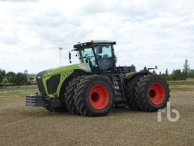 2015 CLAAS XERION 5000 4WD Tractor