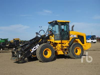 2016 JCB 437 Wheel Loader