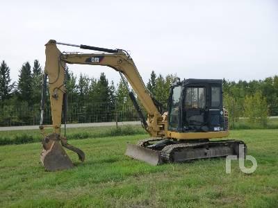 2011 CATERPILLAR 308D CR Hydraulic Excavator