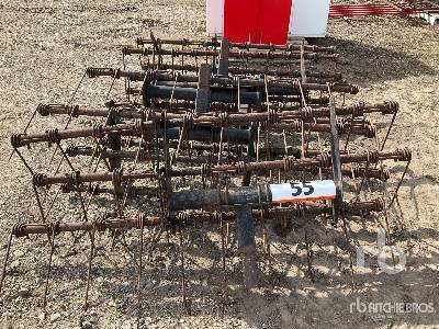 BOURGAULT Qty Of 5 3 Bar Mounted Harrows