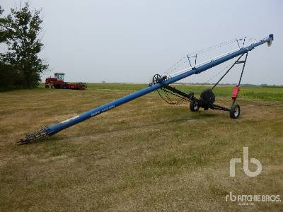 BRANDT 852 Super Charged 8 In. x 52 Ft Grain Auger