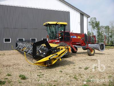 2009 NEW HOLLAND H8040 30 Ft Swather