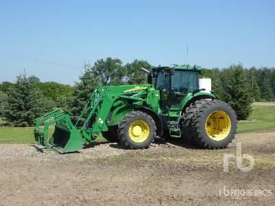 2009 JOHN DEERE 7630 MFWD Tractor