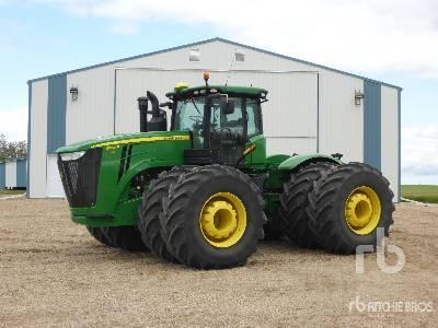2014 JOHN DEERE 9560R 4WD Tractor