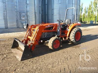 2008 KIOTI DK35SE MFWD Utility Tractor