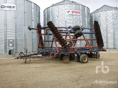 1987 FORD SUNFLOWER 251 40 Ft Tandem Disc