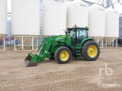 2011 JOHN DEERE 7830 MFWD MFWD Tractor